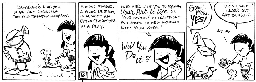 strip for November / 14 / 2012 - Dante, we'd like you to be...