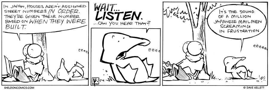 strip for December / 7 / 2012 - In Japan...