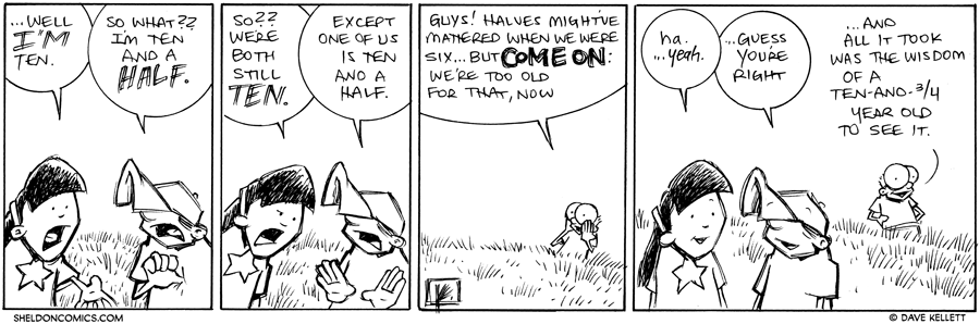 strip for December / 19 / 2012 - How old are you?
