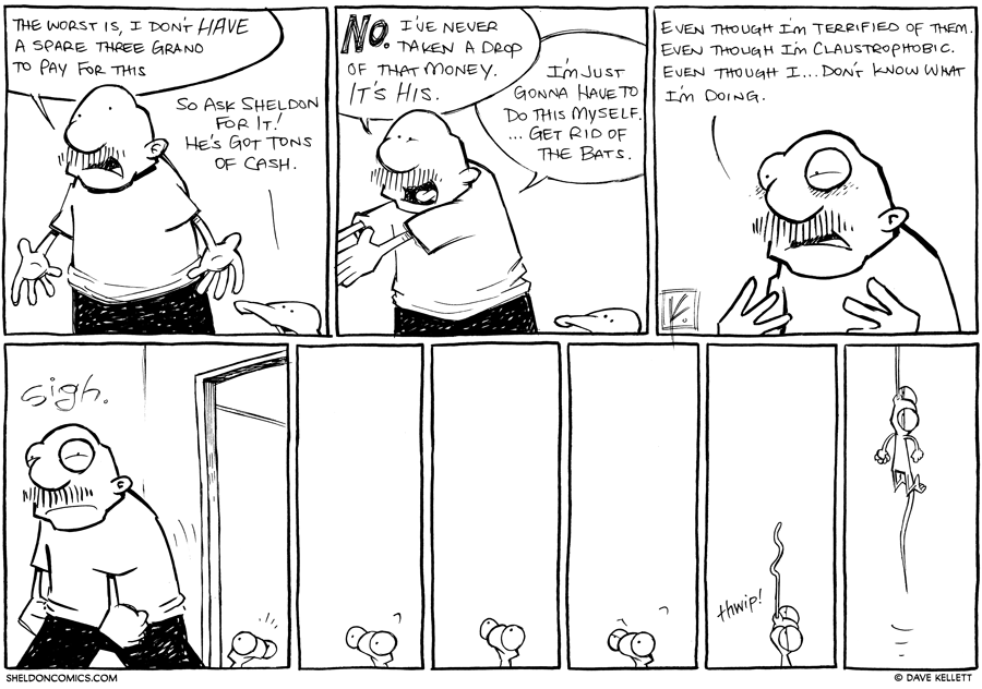 strip for February / 18 / 2013 - What is the worst thing right now for Gramp?