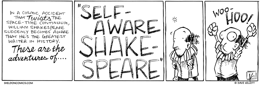 strip for March / 4 / 2013 - In a cosmic accident...