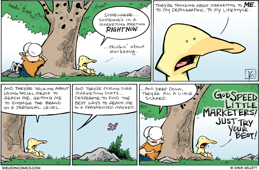 strip for April / 19 / 2013 - Somewhere... someone's in a...