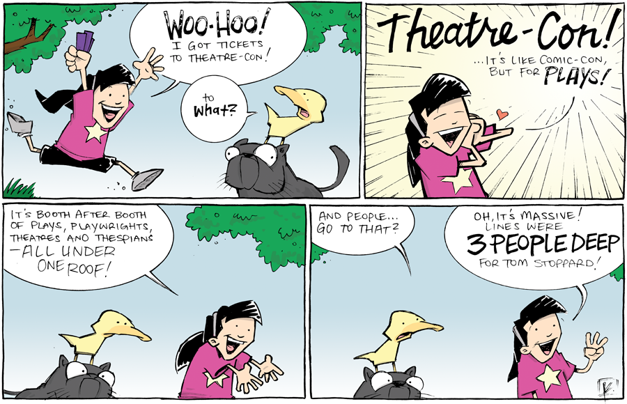 strip for August / 6 / 2013 - Theatre-Con, part 1