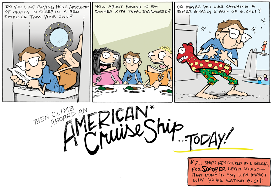 strip for August / 21 / 2013 - Climb aboard a CRUISE!