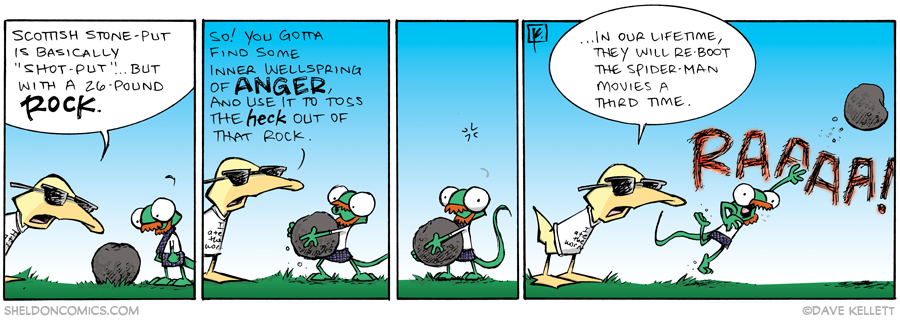 strip for September / 9 / 2013 - Highland Games, part 8