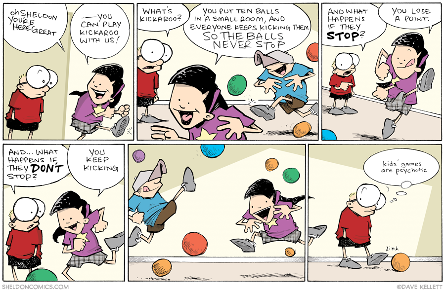 strip for September / 12 / 2013 - Kids' Games