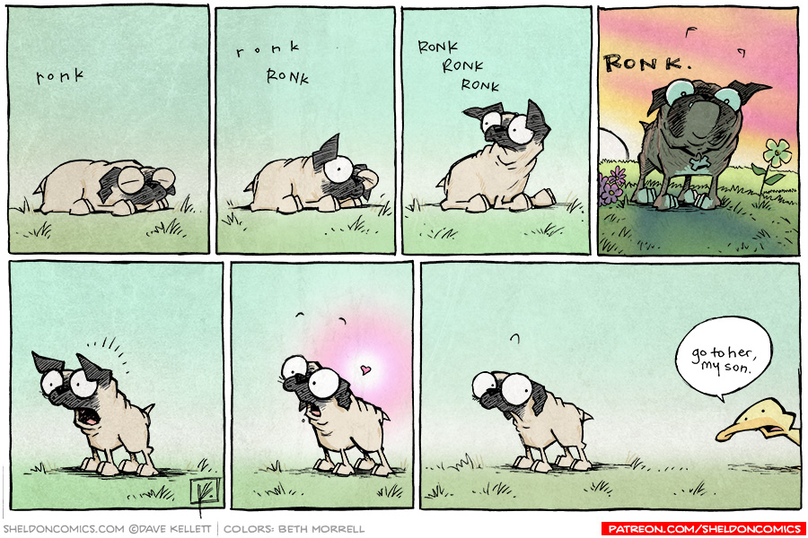 strip for September / 23 / 2013 - Puppy Love, part 1