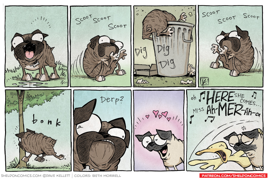 strip for September / 24 / 2013 - Puppy Love, part 2