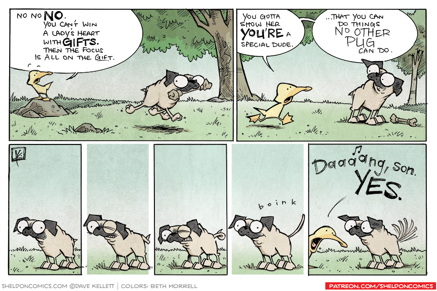 strip for September / 26 / 2013 - Puppy Love, part 4