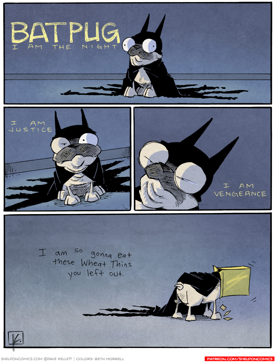 strip for October / 1 / 2013 - Batpug