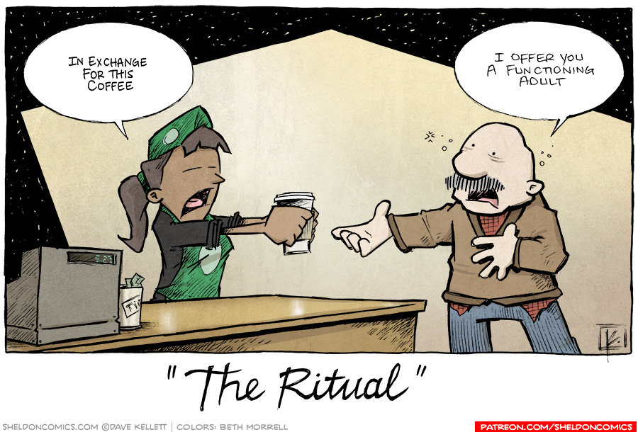 strip for October / 11 / 2013 - The Ritual