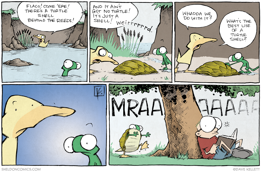strip for October / 14 / 2013 - Turtle Power, part 1