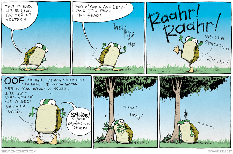 strip for October / 15 / 2013 - Turtle Power, part 2