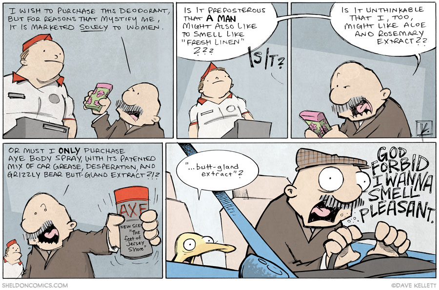 strip for October / 22 / 2013 - *I* Wanna Smell Like Fresh Linen