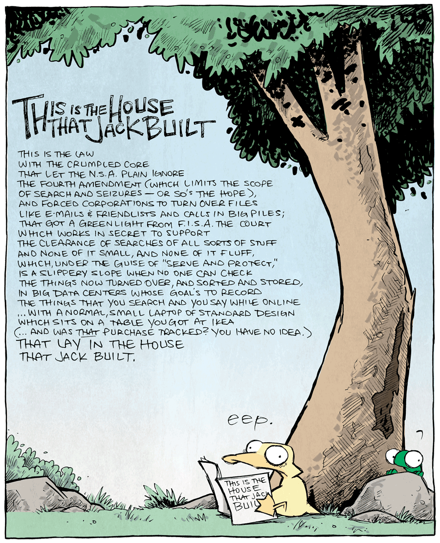 strip for November / 4 / 2013 - This is the House that Jack Built