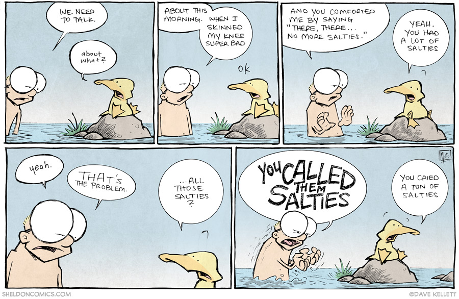 strip for November / 12 / 2013 - No More Salties