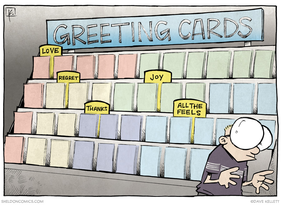 strip for November / 13 / 2013 - Greeting Cards for the Internet Age