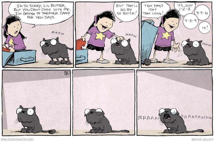 strip for November / 18 / 2013 - The Cat Came Back, part 1