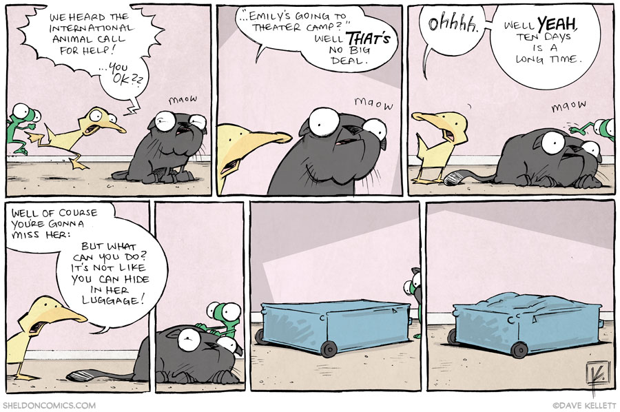 strip for November / 19 / 2013 - The Cat Came Back, part 2