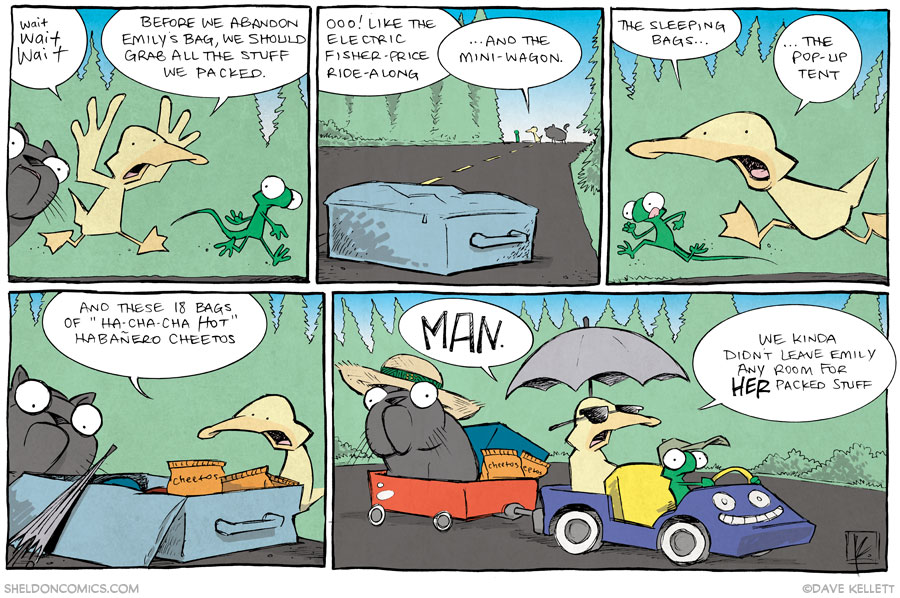 strip for November / 26 / 2013 - The Cat Came Back, part 5