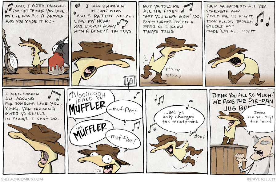 strip for December / 12 / 2013 - The Cat Came Back, part 12