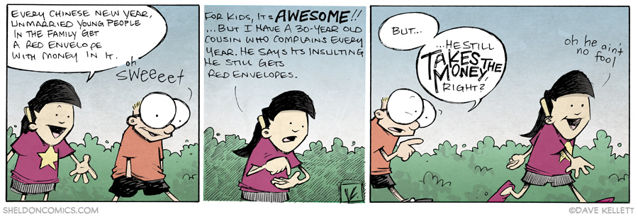 strip for January / 28 / 2014 - Chinese New Year, part 2