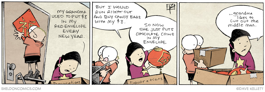 strip for January / 29 / 2014 - Chinese New Year, part 3