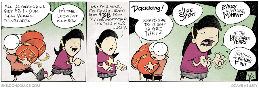 strip for January / 30 / 2014 - Chinese New Year, part 4