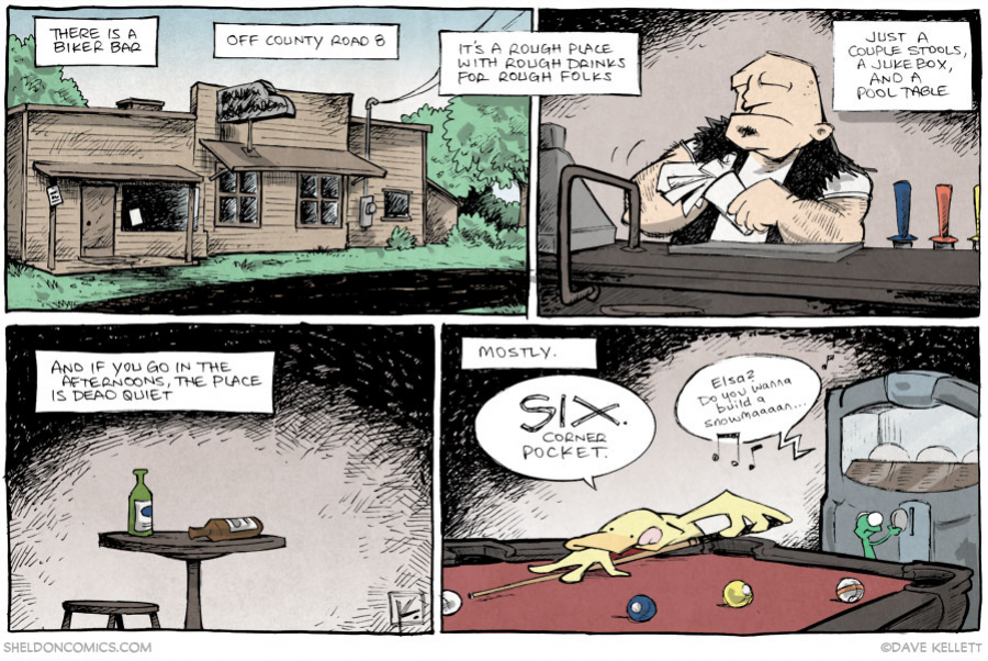 strip for February / 20 / 2014 - Pool Sharkin', part 1