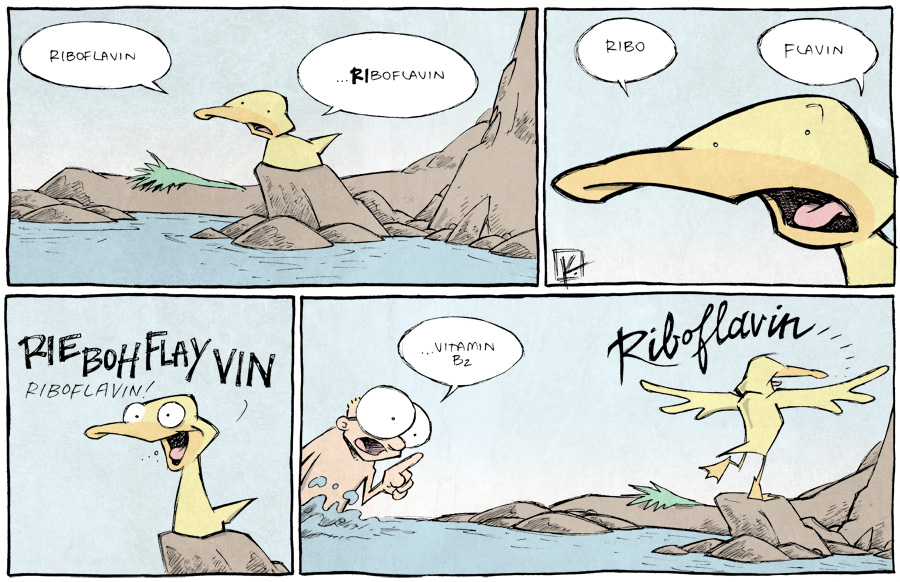 strip for March / 25 / 2014 - Riboflavin