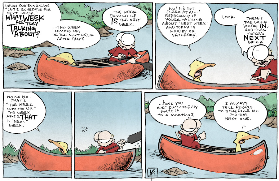 strip for April / 21 / 2014 - See You Next Week