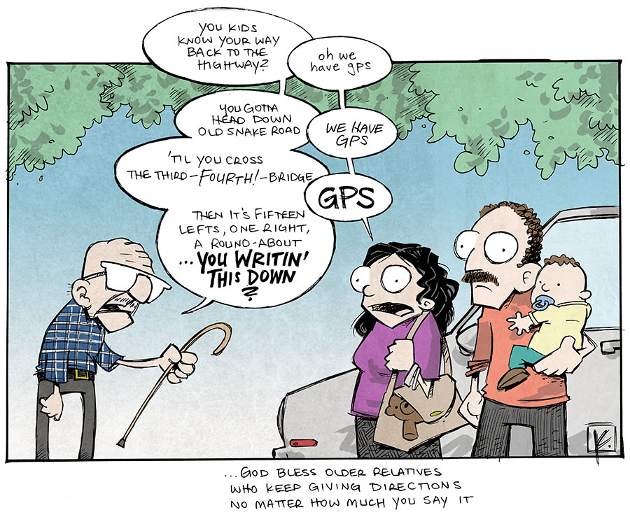 strip for April / 24 / 2014 - GPS