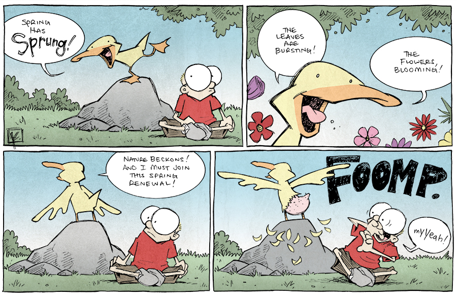 strip for May / 6 / 2014 - Spring has Sprung! Part 1