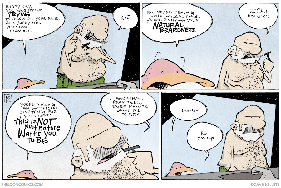 strip for May / 8 / 2014 - Natural Beardness