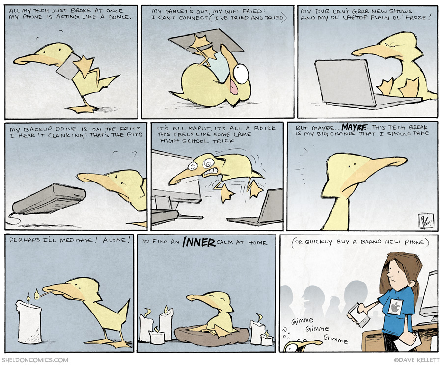 strip for May / 19 / 2014 - Tech Zen