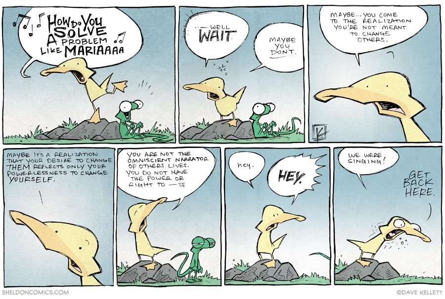 strip for May / 20 / 2014 - How Do You Solve A Problem Like Maria?