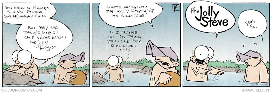 strip for May / 27 / 2014 - The Jolly Roger