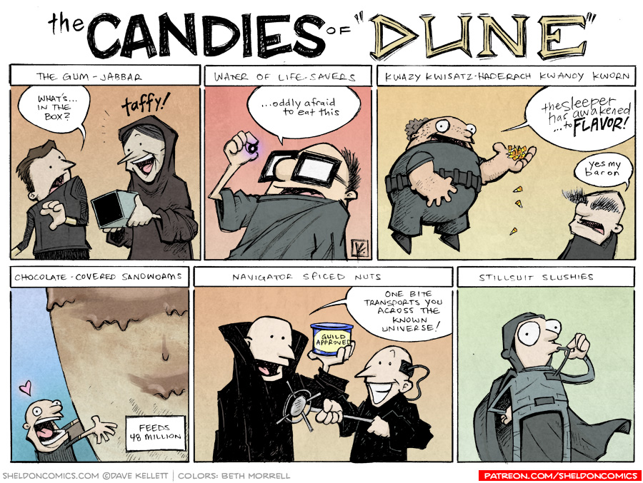 strip for June / 2 / 2014 - The Candies of DUNE