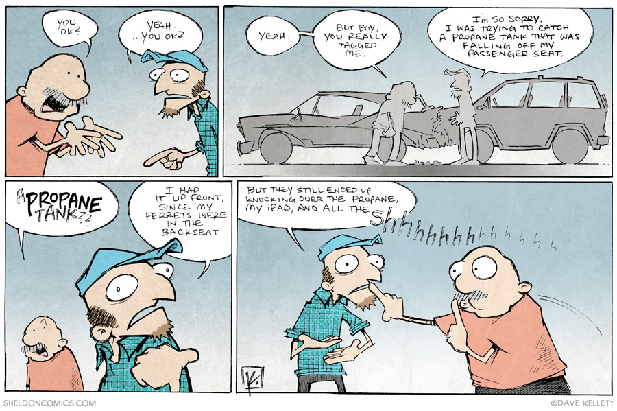 strip for June / 5 / 2014 - Darwin Awards