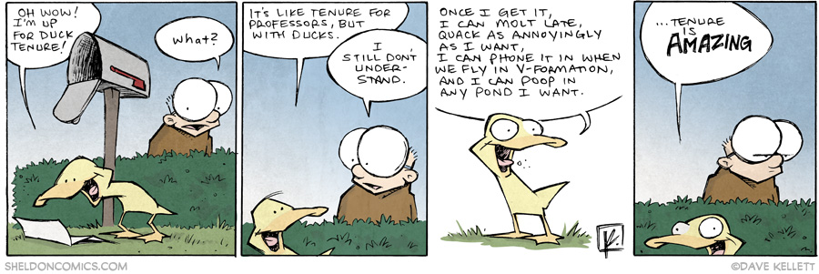 strip for June / 16 / 2014 - Tenure