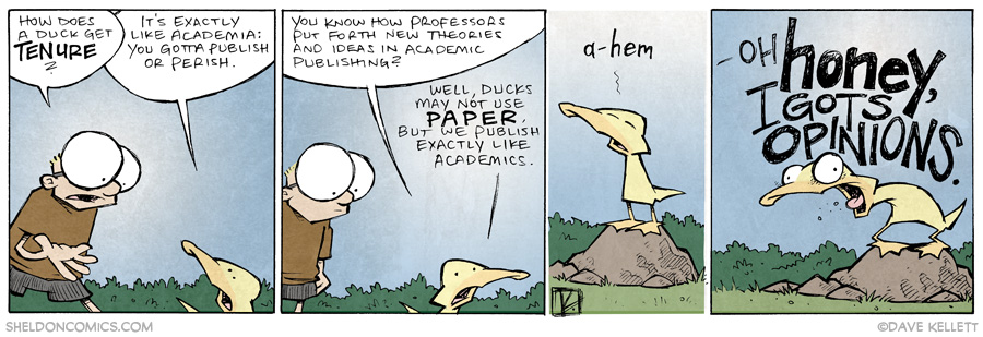 strip for June / 17 / 2014 - Duck Tenure, part 2