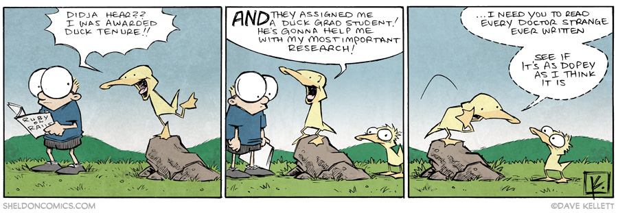 strip for June / 19 / 2014 - Duck Tenure, part 4