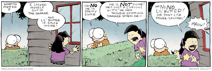 strip for June / 25 / 2014 - Lil Butter Lil Stuck, part 1