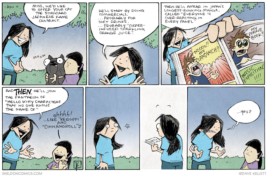 strip for July / 3 / 2014 - Lil' Butter, Japanese Internet Sensation, part 2