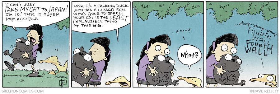 strip for July / 7 / 2014 - Fourth Wall