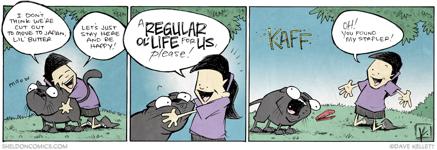 strip for July / 8 / 2014 - Finders Keepers