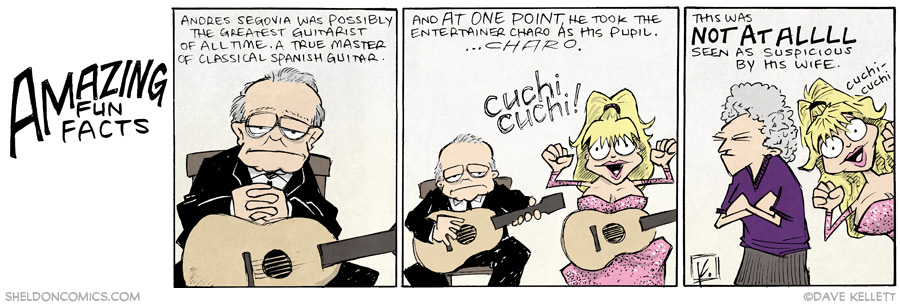 strip for July / 10 / 2014 - Cuchi Cuchi!