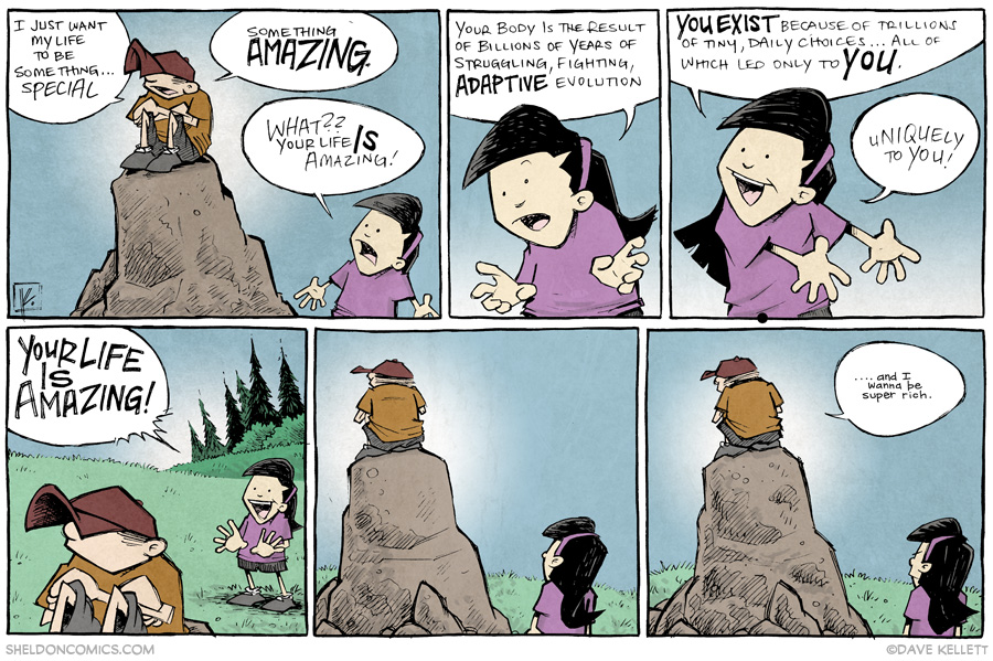 strip for July / 15 / 2014 - Your Life *Is* Amazing