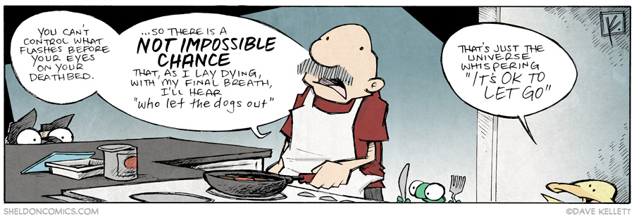 strip for July / 18 / 2014 - It's OK To Let Go