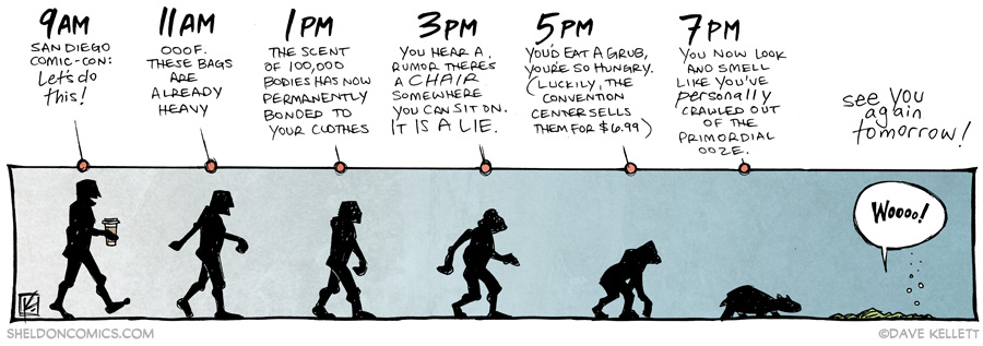 strip for July / 23 / 2014 - Evolution
